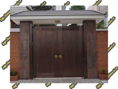 Giới thiệu cổng nhôm đúc biệt thự cao cấp