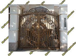 Ưu thế cổng nhôm đúc so với cổng đồng đúc và cổng gang đúc
