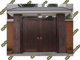 Mẫu cổng nhôm đúc biệt thự sang trọng