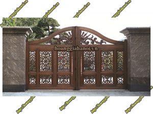 Cổng nhôm đúc 4 cánh, lợi thế đẹp dành cho kiến trúc lớn