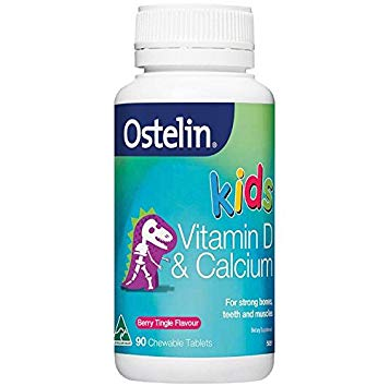Vitamin Calcium & Vitamin D Ostelin Kids 90v