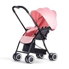 Xe đẩy Vovo 2 chiều màu hồng