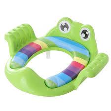 Lót ngồi Toilet hình ếch - màu xanh lá (Cái)