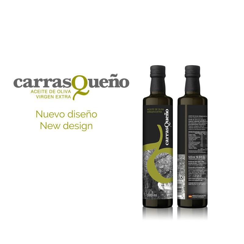 Dầu oliu nguyên chất Extra Virgin CarrasQueno Chai 250 ml