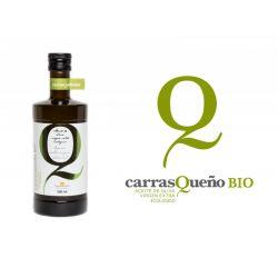 Dầu oliu hữu cơ nguyên chất Extra Virgin hiệu CarrasQueno BIO chai 500 ml