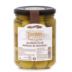 Quả oliu xanh tách hạt Sarasa - Tây Ban Nha