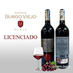 Rượu vang đỏ Tây Ban Nha Licenciado Rioja Reserva 2013