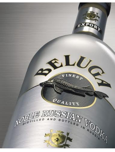 VODKA BELUGA NOBLE HỘP DA