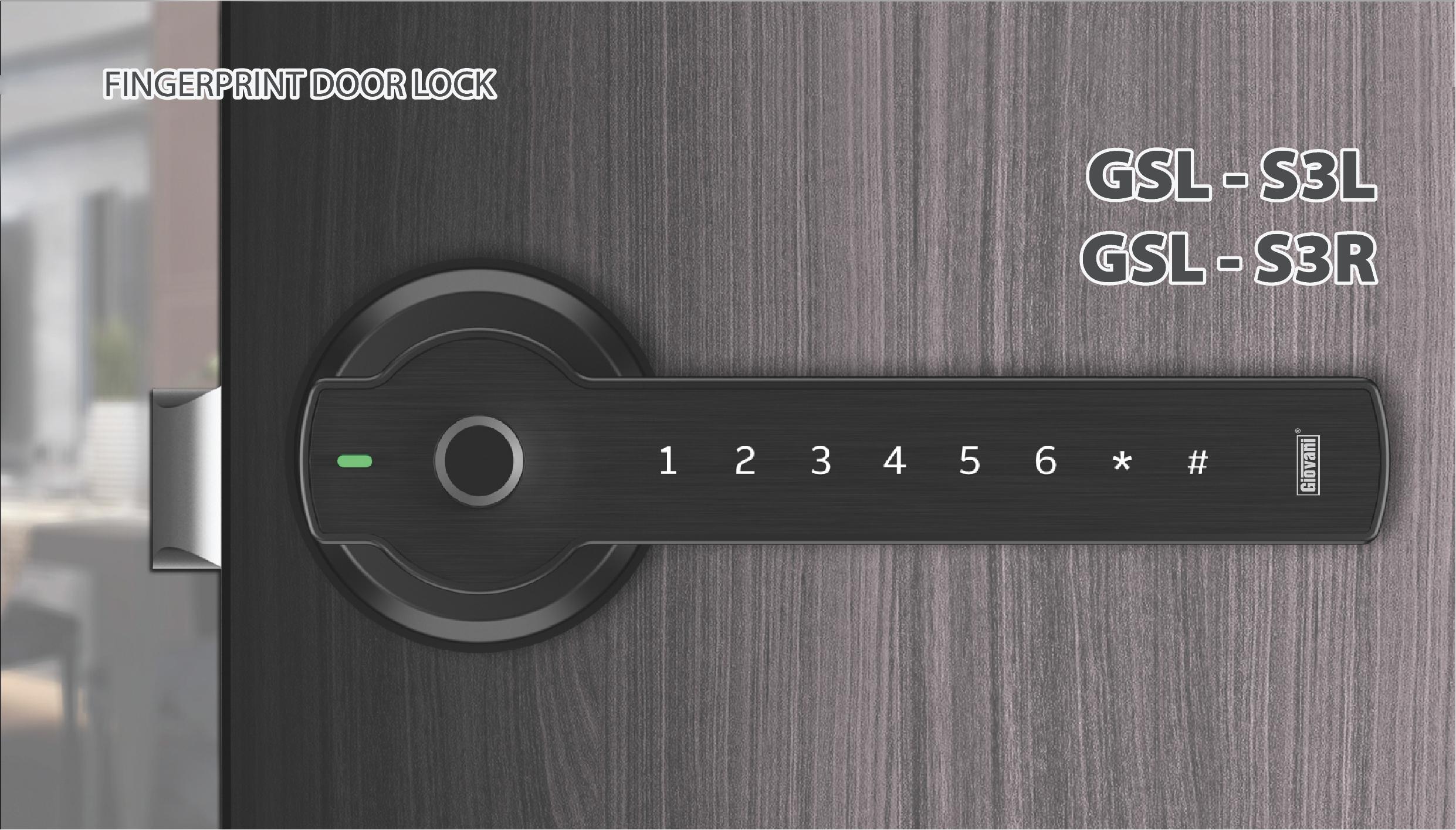 Khóa điện tử Giovani GSL - S3L