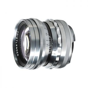Vogitlander Nokton 50mm F1.5 Asph Black/Silver - Chính hãng