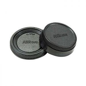 Nắp đuôi ống kính và body Nikon