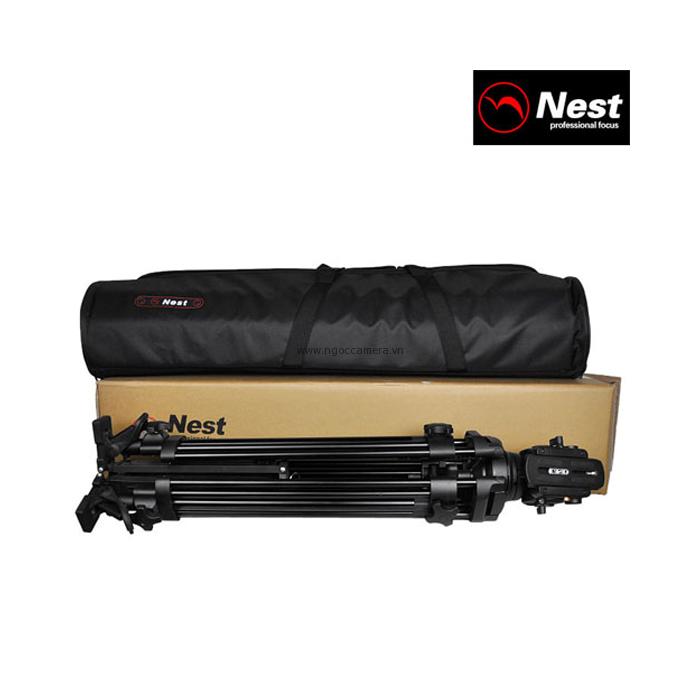 Tripod Video Nest NT-680H - Mới 100%