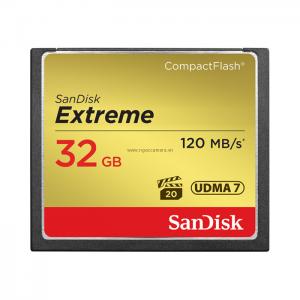 Sandisk CF Extreme 32GB 120MB/s 800X - Chính hãng