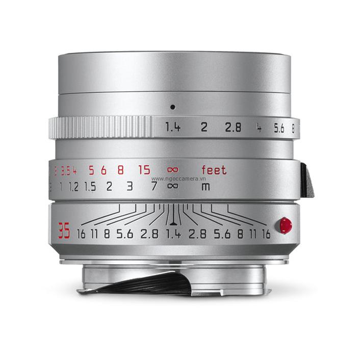 Leica Summilux-M 35mm f/1.4 ASPH Lens Silver
