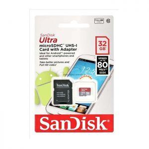 Sandisk Micro SDXC Ultra 32GB 80Mb/s 533X - Chính hãng