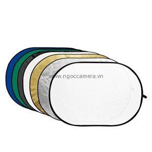 Hắt sáng Godox bầu dục 7 in 1 size 100x150 - Mới 100%
