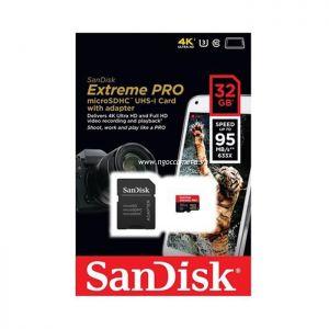 Sandisk Micro SD Ultra 32GB 95Mb/s 633X - Chính hãng