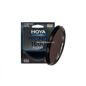 Kính lọc Filter Hoya Pro NDx1000 - Chính hãng