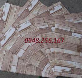 Xốp dán tường vân gỗ đặc biệt