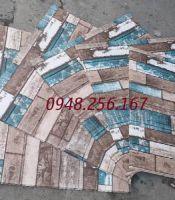 Xốp dán tường vân gỗ đặc biệt 2