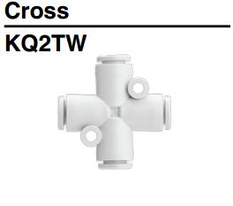 nối nhanh chữ thập SMC KQ2TW series