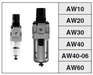 Lọc khí nén SMC AW series