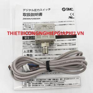 Công tắc áp suất kỹ thuật số SMC ISE30A-01-NL / ZSE30A-01-NP / ZSE30AF-01-A / C / ML