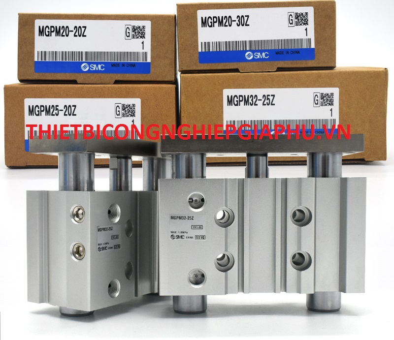 SMC with guide rod cylinder MGPM32-25/50/75/100/125/150/175/200Z three-axis three-bar cylinder,MGPM32-25Z,MGPM32-50Z,MGPM32-75Z,MGPM32-100Z,MGPM32-125