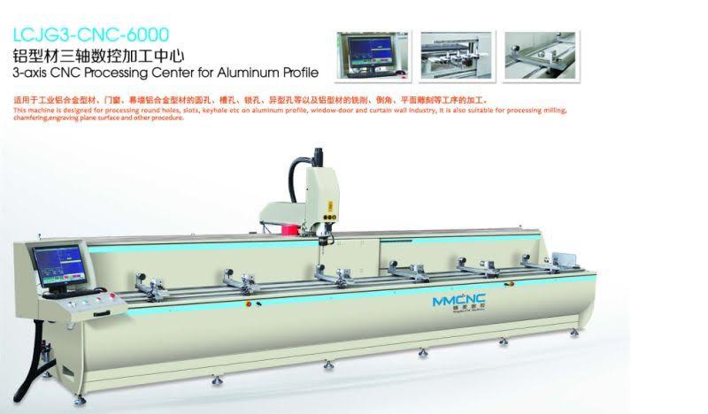 Máy khoan lỗ trung tâm CNC LCJG3-CNC-6000