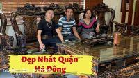 Bộ Bàn Ghế Minh Quốc Nghê Gỗ Mun Yếm Cong 2020 Siêu Vip Tại Đồng Mai- Hà Đông, Hà Nội