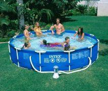 Hồ bơi tròn khung kim loại Intex 28234