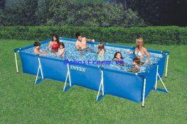 Hồ bơi chữ nhật khung kim loại Intex 28273