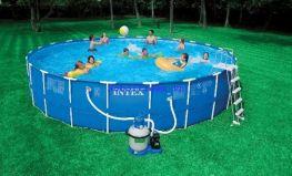 Hồ bơi tròn khung kim loại Intex 28252