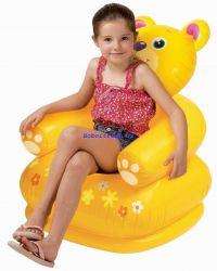 Ghế hơi Gấu vàng Intex 68556