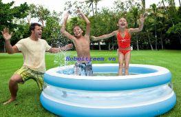 Hồ bơi phao tròn xanh INTEX 57489