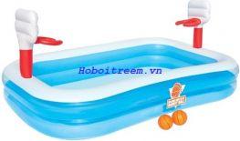 Hồ bơi bé chơi bóng rỗ Bestway 54122
