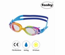 Kính bơi trẻ em Match (quai xanh) thương hiệu Fashy