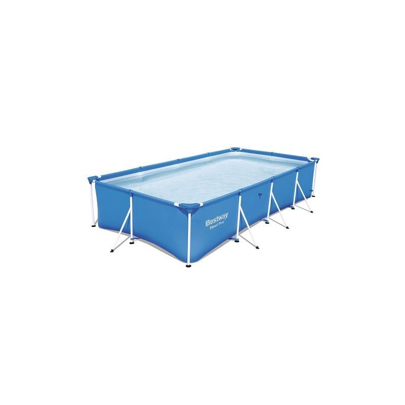 Hồ bơi chữ nhật khung kim loại Bestway 56405