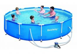 Hồ bơi tròn khung kim loại Bestway 56416