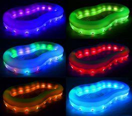 Hồ bơi phao Bestway 54135 có đèn led tặng kèm bóng hơi