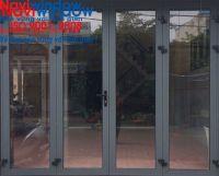 Cửa nhôm Xingfa: cửa đi 4 cánh mở