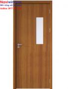 Cửa phòng: Cửa nhựa vân gỗ