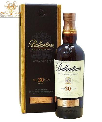 Rượu Ballantines 30 năm
