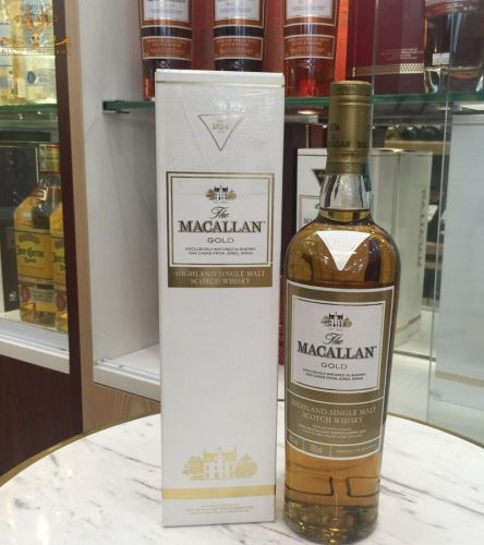 Rượu Macallan gold UK