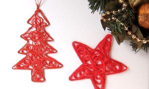 Tự tay làm đồ trang trí cho cây thông Noel