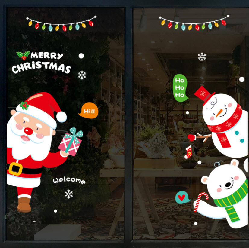 Decal Merry Christmas số 10