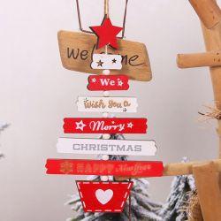 Móc treo hình cây thông Merry Christmas