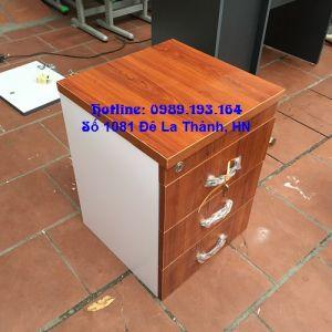 Hộc 3 ngăn kéo gỗ Melamin H3Min