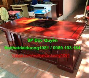 Bàn giám đốc BGD1890H18(M), Bàn sơn PU cao cấp Hãng s