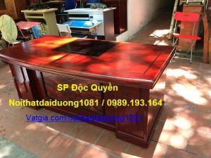 Bàn giám đốc BGD1980H19(M), Bàn sơn PU cao cấp